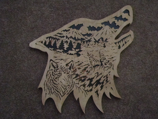 Scroll Saw Lasting Wood Impressions